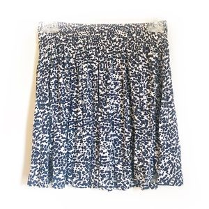 H&M Blue and White Speckled Skirt